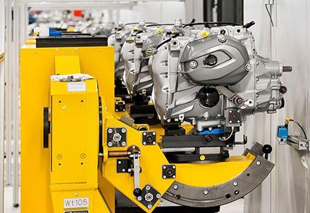 BMW moteur montage